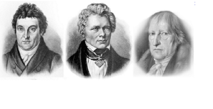 Fichte Schelling Hegel